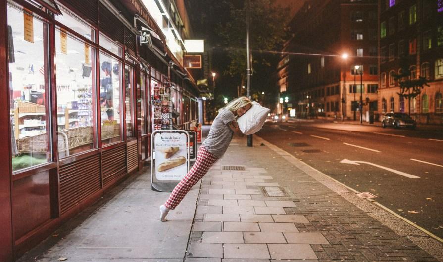 Sleep walking. By Anne Marthe Widvey, via Flickr. Used under Creative Commons License.
