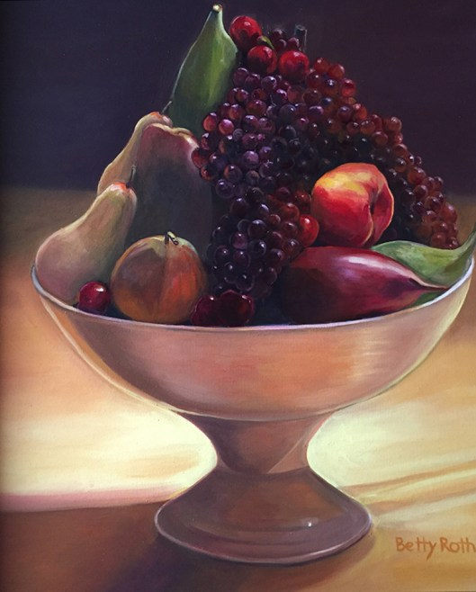 """A Bowl of Health,"" Oil on Canvas, 20""x24"" -SOLD"