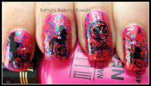 Barbie-Nail-Polish-Art
