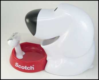Dog-Scotch-Tape-Holder