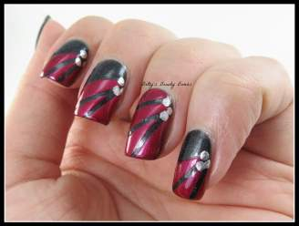 Black-and-Red-Nail-Art