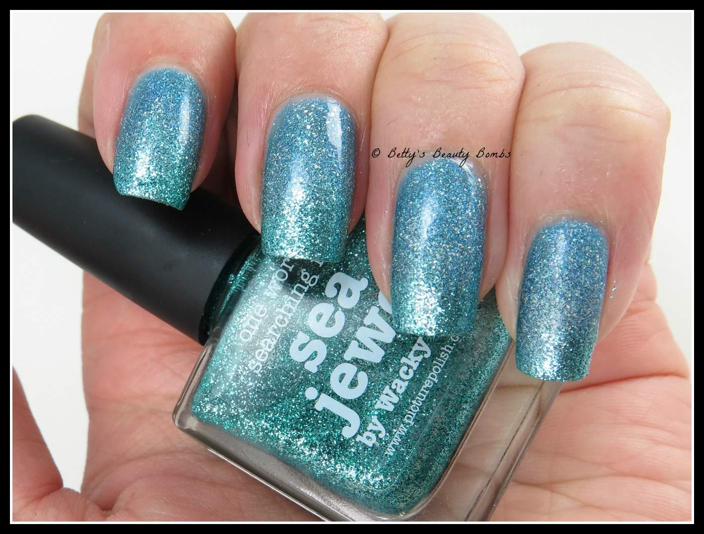 Gradient-Nail-Art - Ocean Nail Art For Challenge Your Nail Art - Lazy Betty