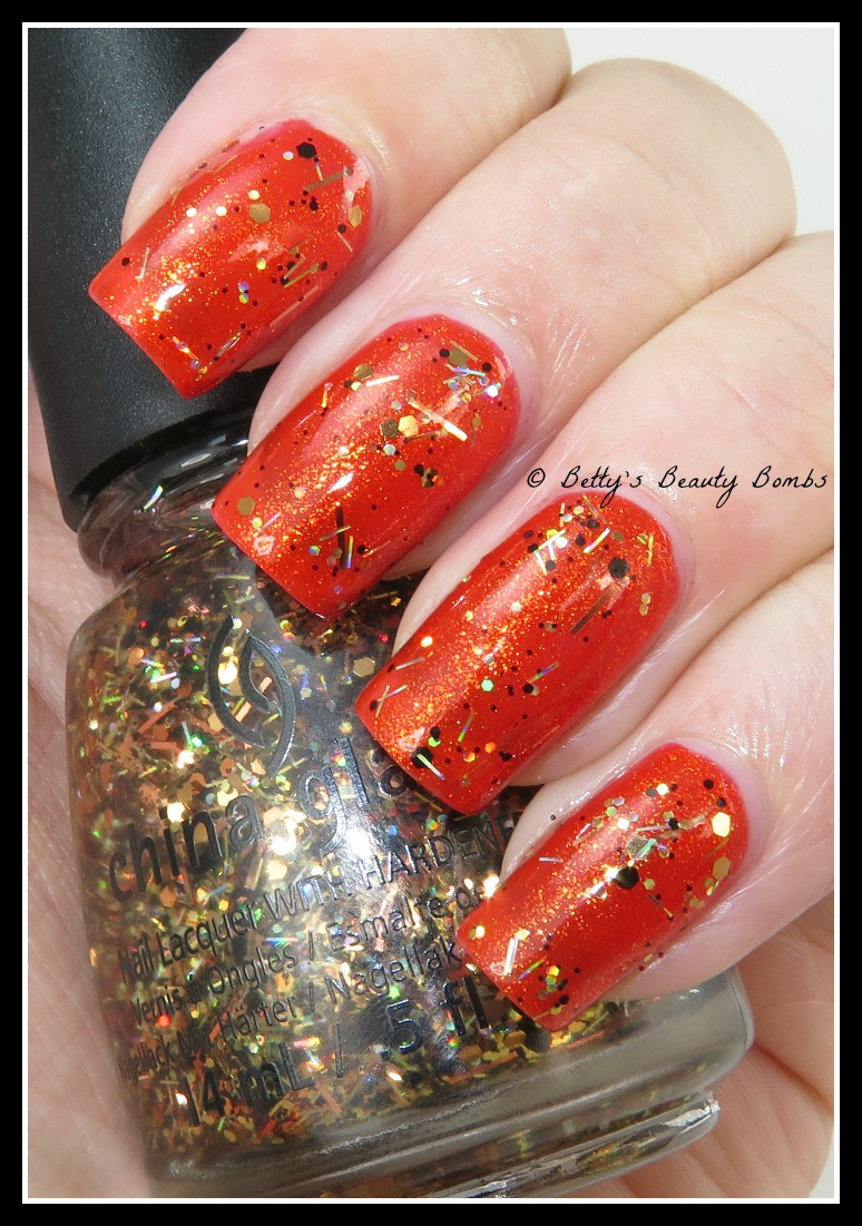 China Glaze Apocalypse Of Colour Collection Lazy Betty