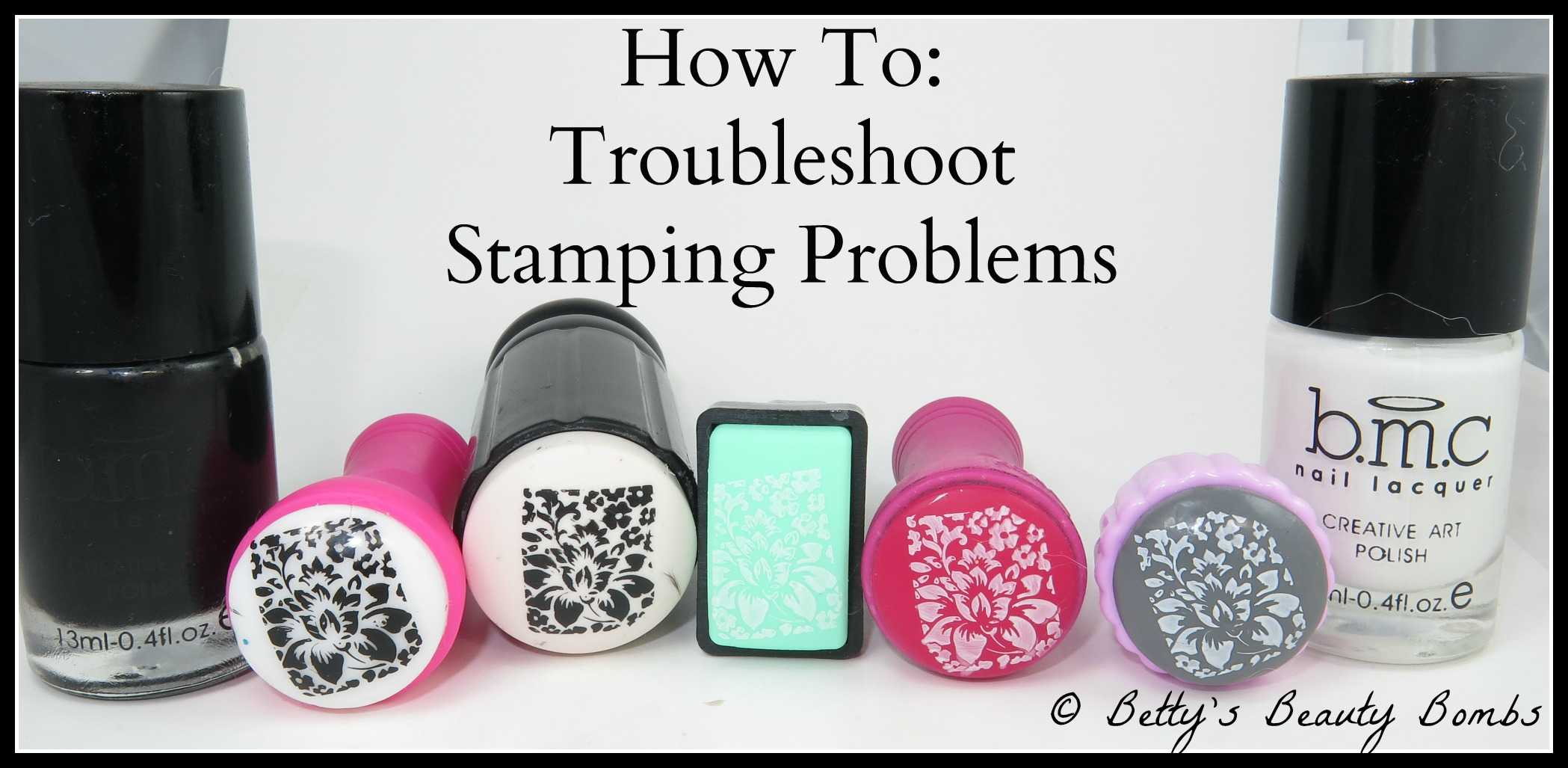 Nail Art 101: Troubleshooting Stamping Problems - Lazy Betty