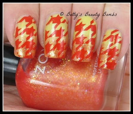 gradient-nail-art-with-stamping