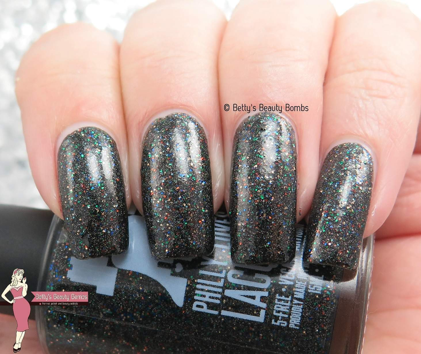 Philly Loves Lacquer Burning Rain of Death - Lazy Betty