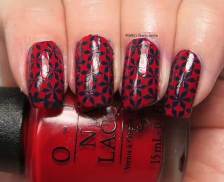 blue-and-red-nail-art