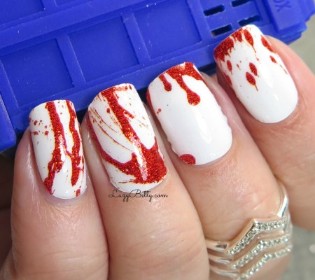 espionage-cosmetics-nail-wraps-blood-splatter