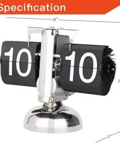 Retro Flip Desk Shelf Clock