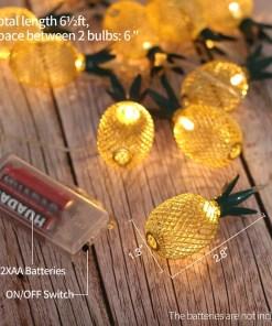 Pineapple Fairy String Light
