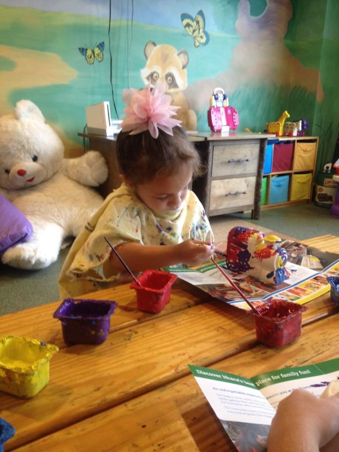 arts and crafts at hope lake lodge
