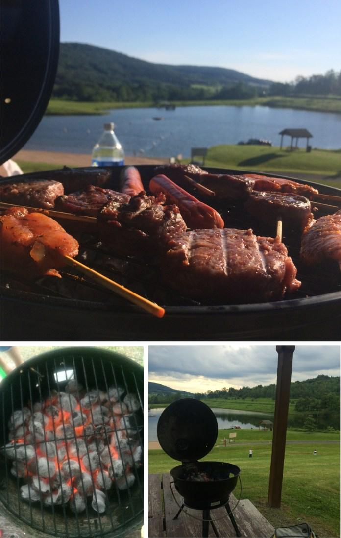 barbecue at hope lake lodge