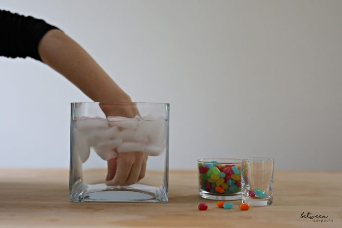 Chanukah Family Game ideas. Try this Ice Bucket Game.