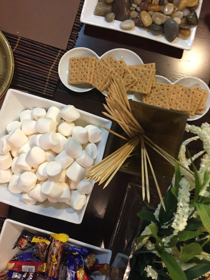 The Winter S'Mores Bar. No time to bake dessert? Warm up your winter melave malkah with a s'mores bar instead.