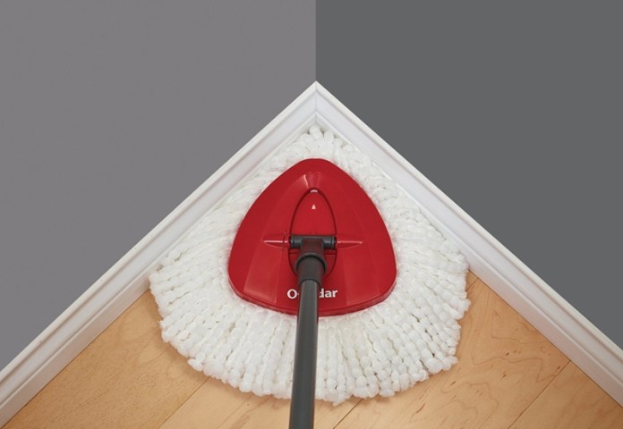 O-Cedar Easy Wring Microfiber Mop - You no longer need to actually touch the mop. Sold!