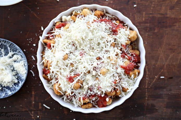 Make this recipe today. On Between Carpools Today. Make a Shortcut Gourmet Dinner in Five Minutes. Cauliflower Parmesan. Cauliflower Parmesan - Easy Gourmet Dinner. You're four ingredients away from a crispy twist on the dinner dish that everyone loves.