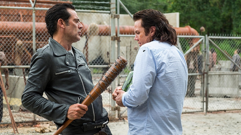The Walking Dead season 7 episodes 11 and 12 eugene and negan