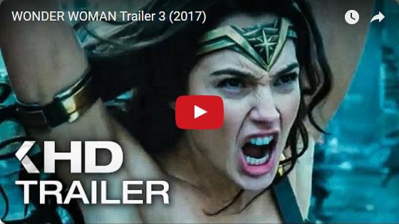 New WONDER WOMAN Trailer 3 - May 2017