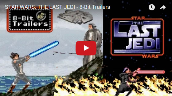 STAR WARS: THE LAST JEDI 8-Bit Trailer