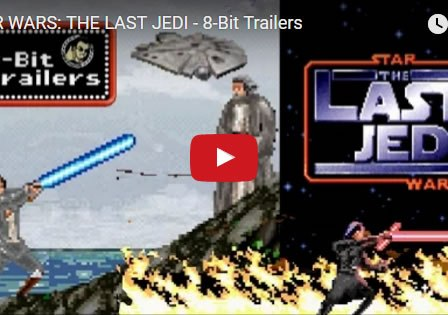 STAR WARS: THE LAST JEDI 8-Bit Trailer
