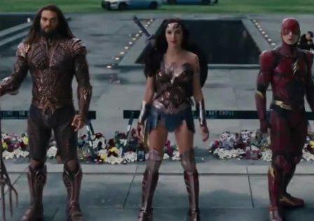 New Justice League Trailer #SDCC17