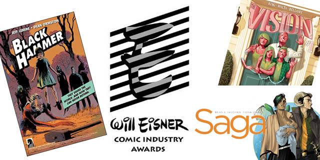 2017 Eisner Awards  #SDCC17