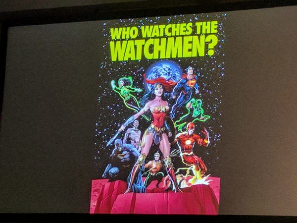 Geoff Johns Steals More from the Watchmen or Who Watches the Watchmen or Doomsday Clock or whatever.