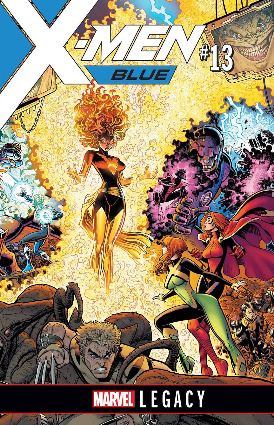 X-Men Blue issue #13 cover
