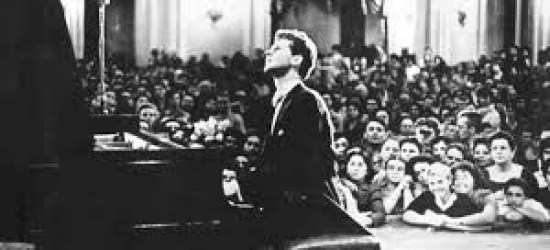 """The Texan Who Conquered Russia,"" died at age 78.  Denied the Soviets a Cold War victory by winning the first International Tchaikovsky Competition in 1958 at age 24. His performance in the finale of Tchaikovsky's Piano Concerto No. 1 and Rachmaninoff's Piano Concerto No. 3 earned him an eight minute standing ovation and ultimately the only New York City ticker-tape parade for a classical musician. Performed all over the world throughout his career; the Van Cliburn International Piano Competition is held on a quadrennial basis at TCU in Ft. Worth."