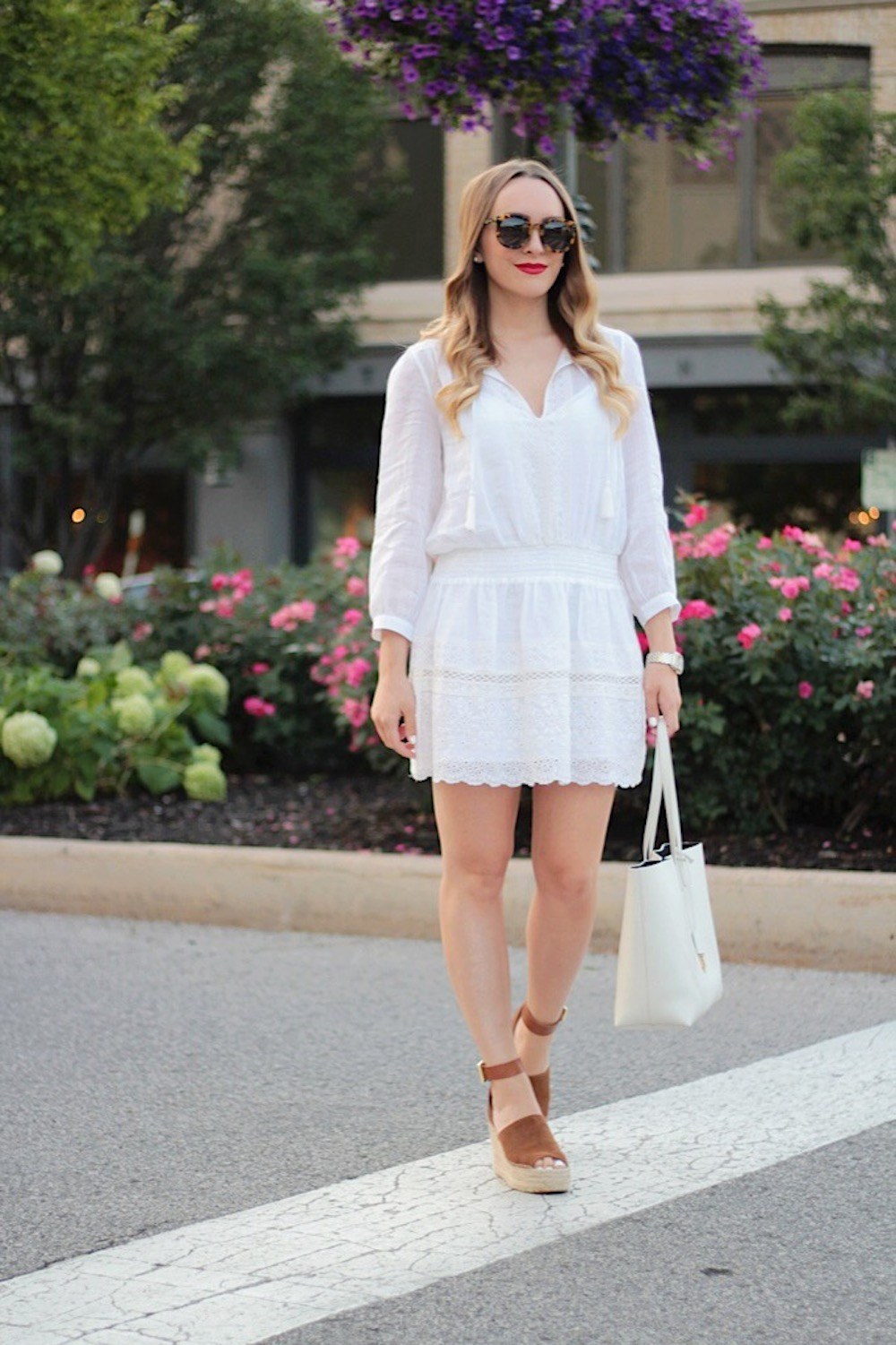white and wedges between two coasts
