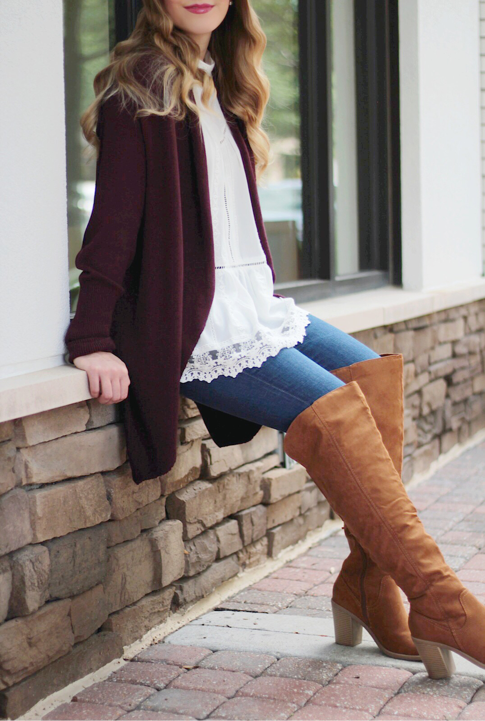 fall trend over the knee boots