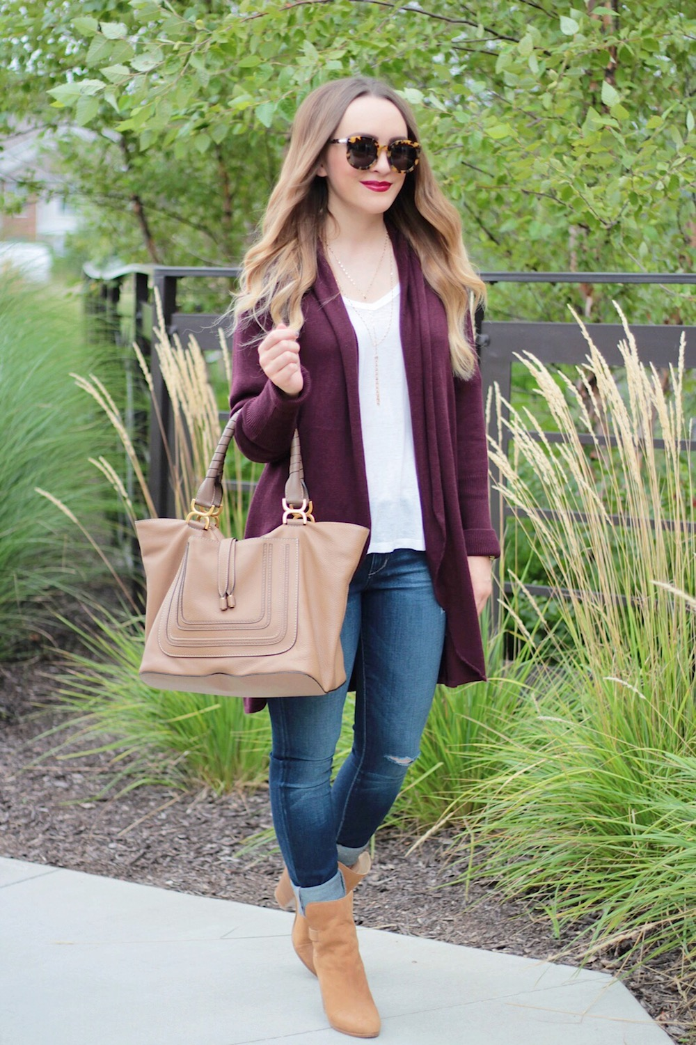 long sweater fall basics