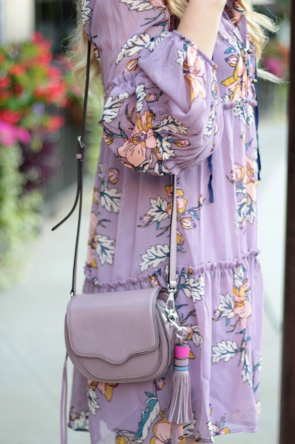 summer style floral dress