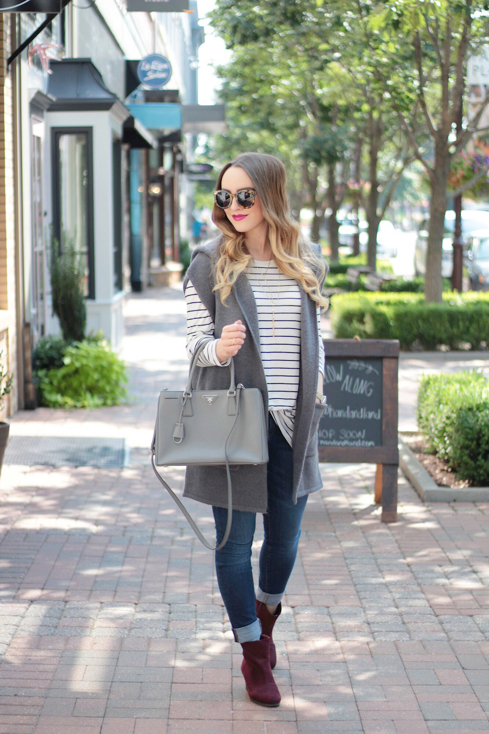 nordstrom sleeveless sweater fashion blogger rachel puccetti