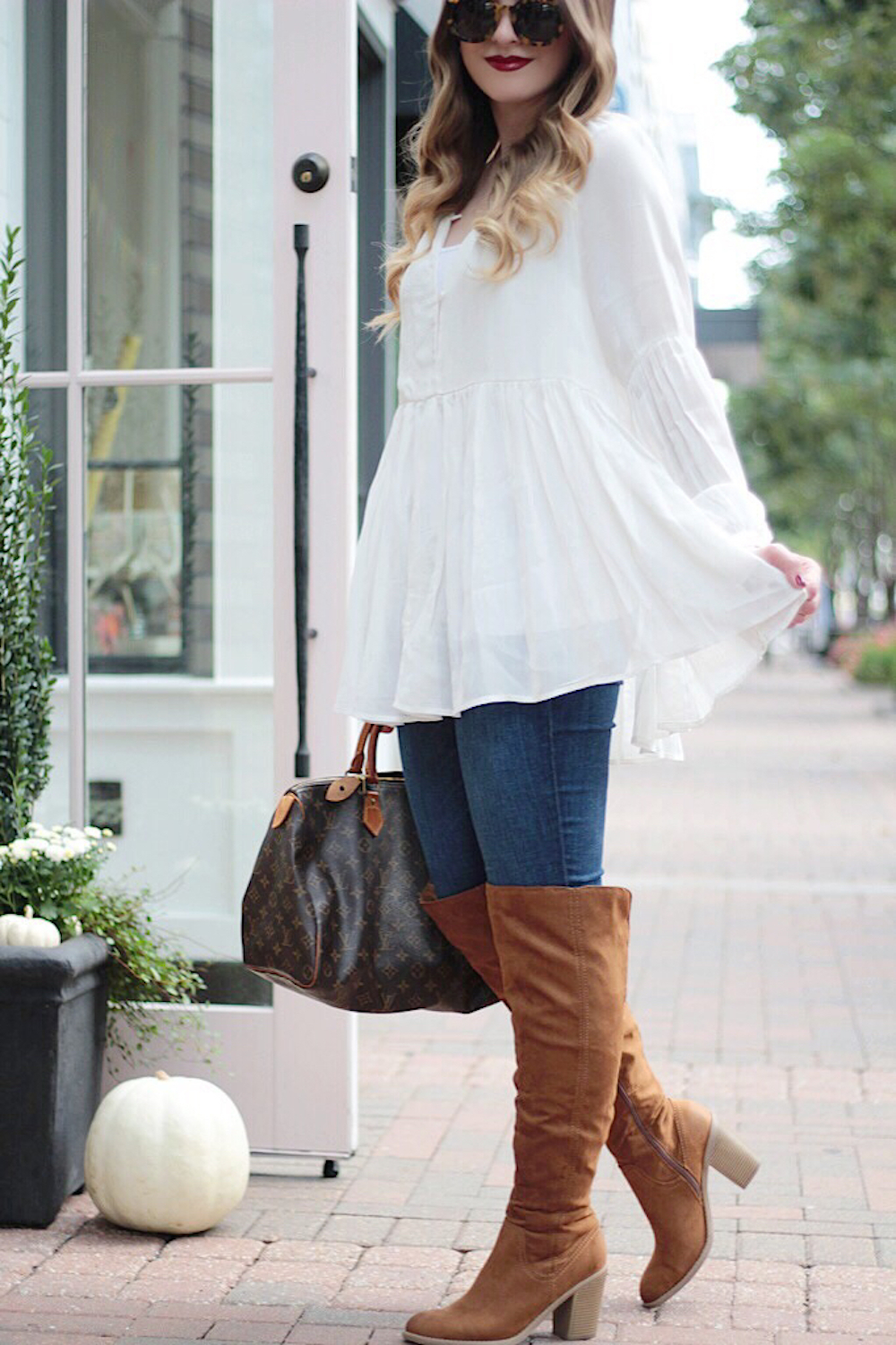 pretty chiffon blouse rachel puccetti between two coasts