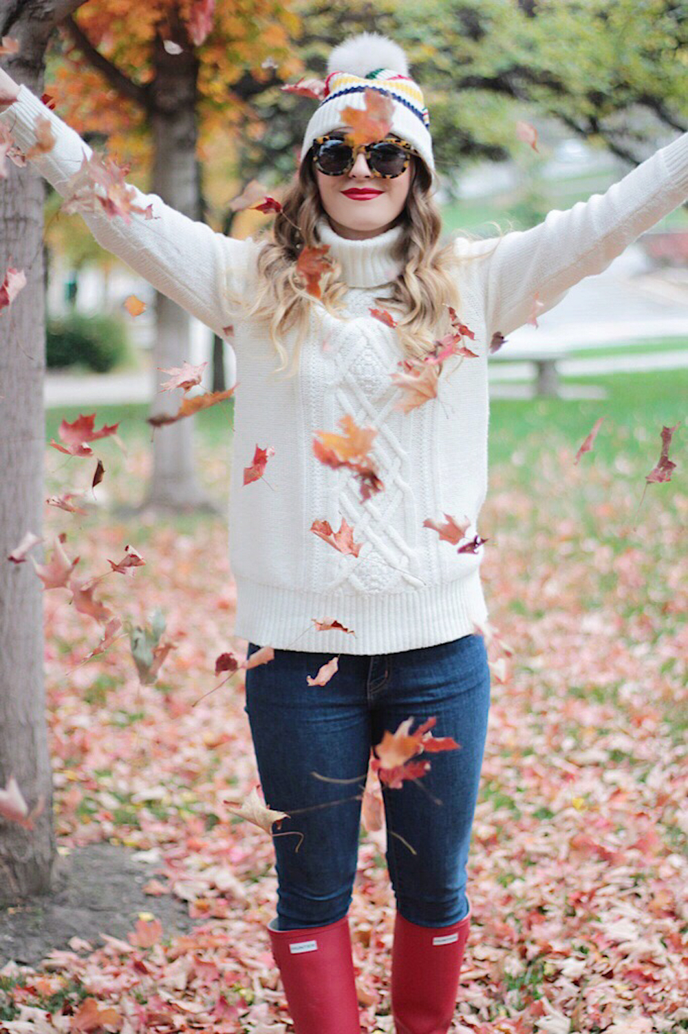 jcrew cable knit sweater fashion blogger rachel puccetti between two coasts