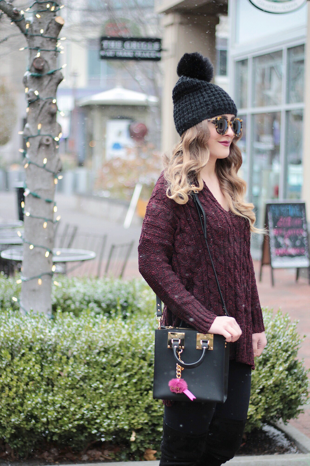 cable knit sweater rachel puccetti between two coasts