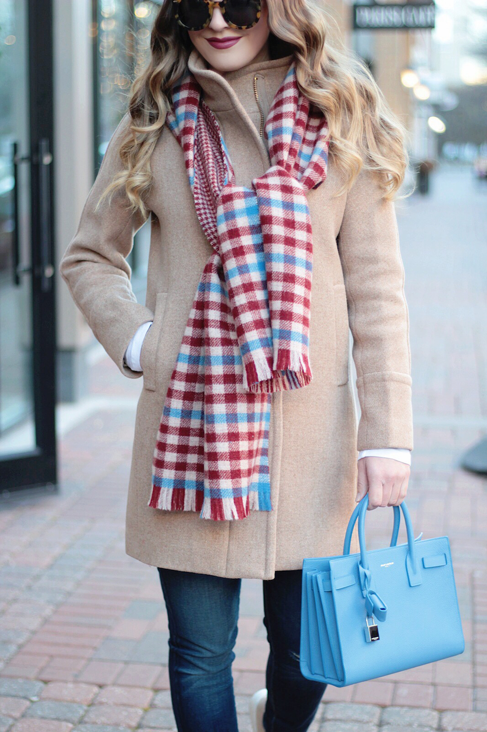classic camel coat rachel puccetti between two coasts