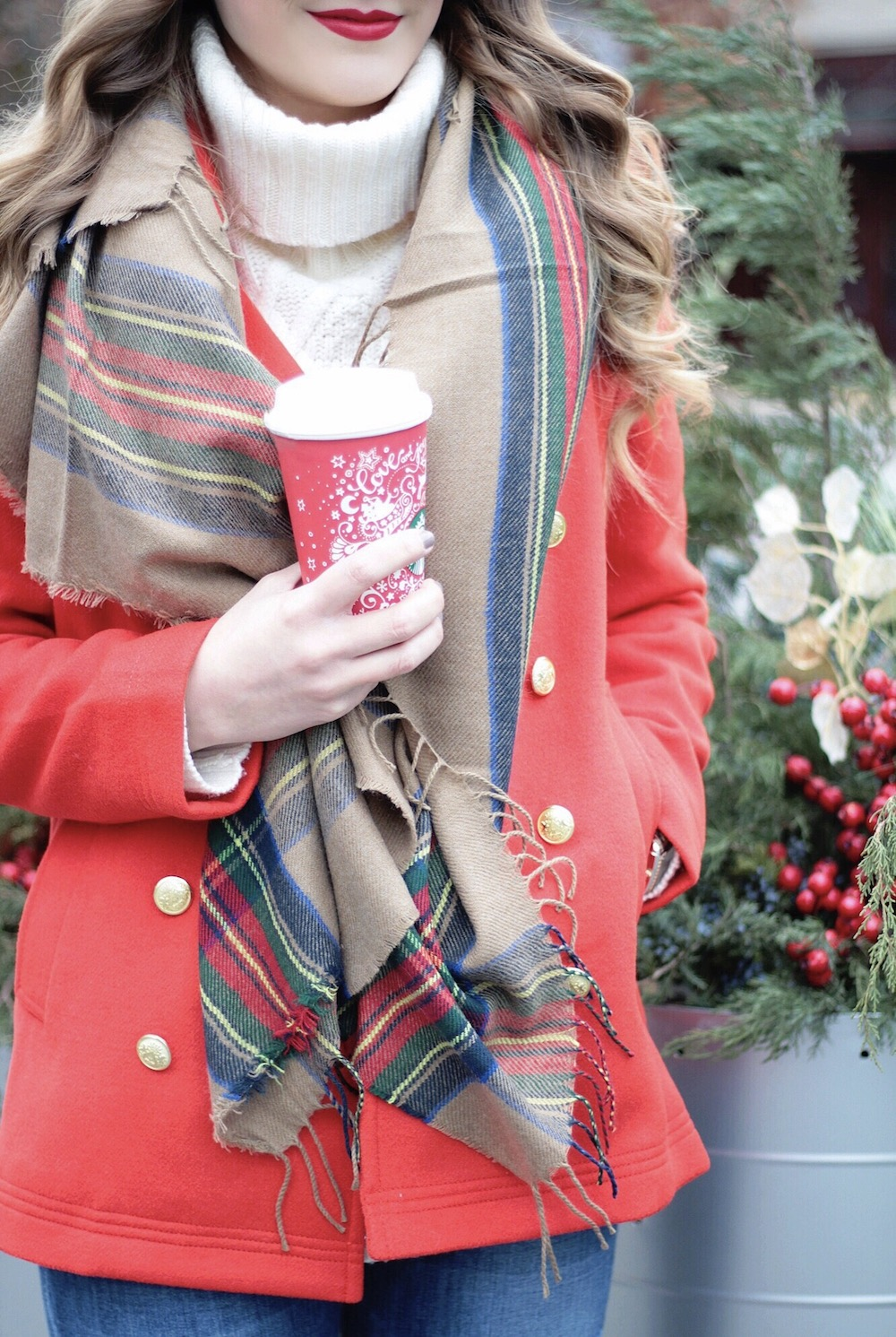 holiday look fashion blogger rachel puccetti between two coasts