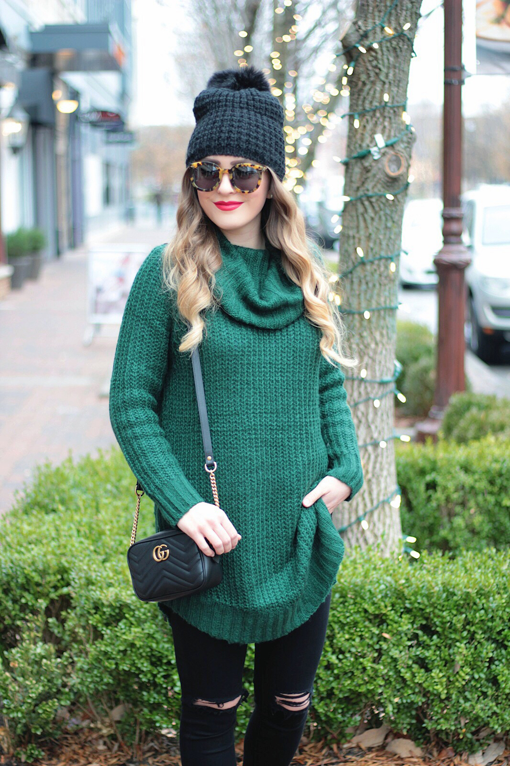 winter style long sweater rachel puccetti between two coasts