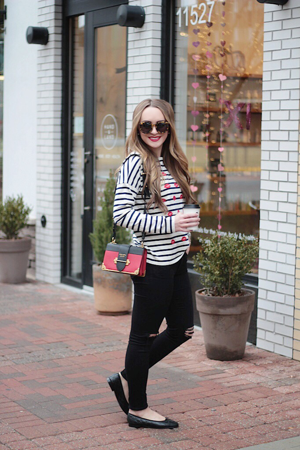 casual style striped tee rachel puccetti between two coasts