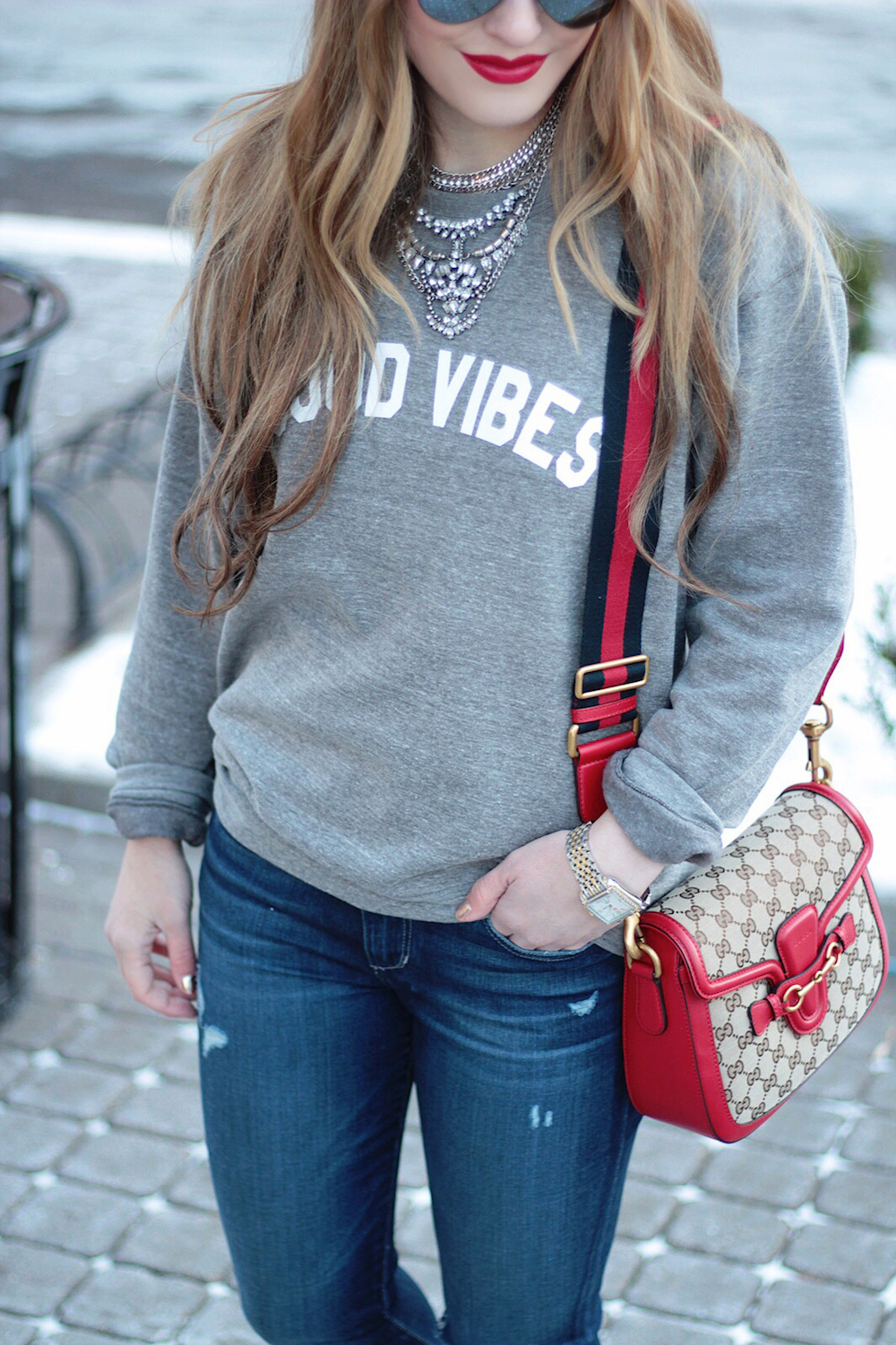 casual style sweatshirt fashion blogger rachel puccetti