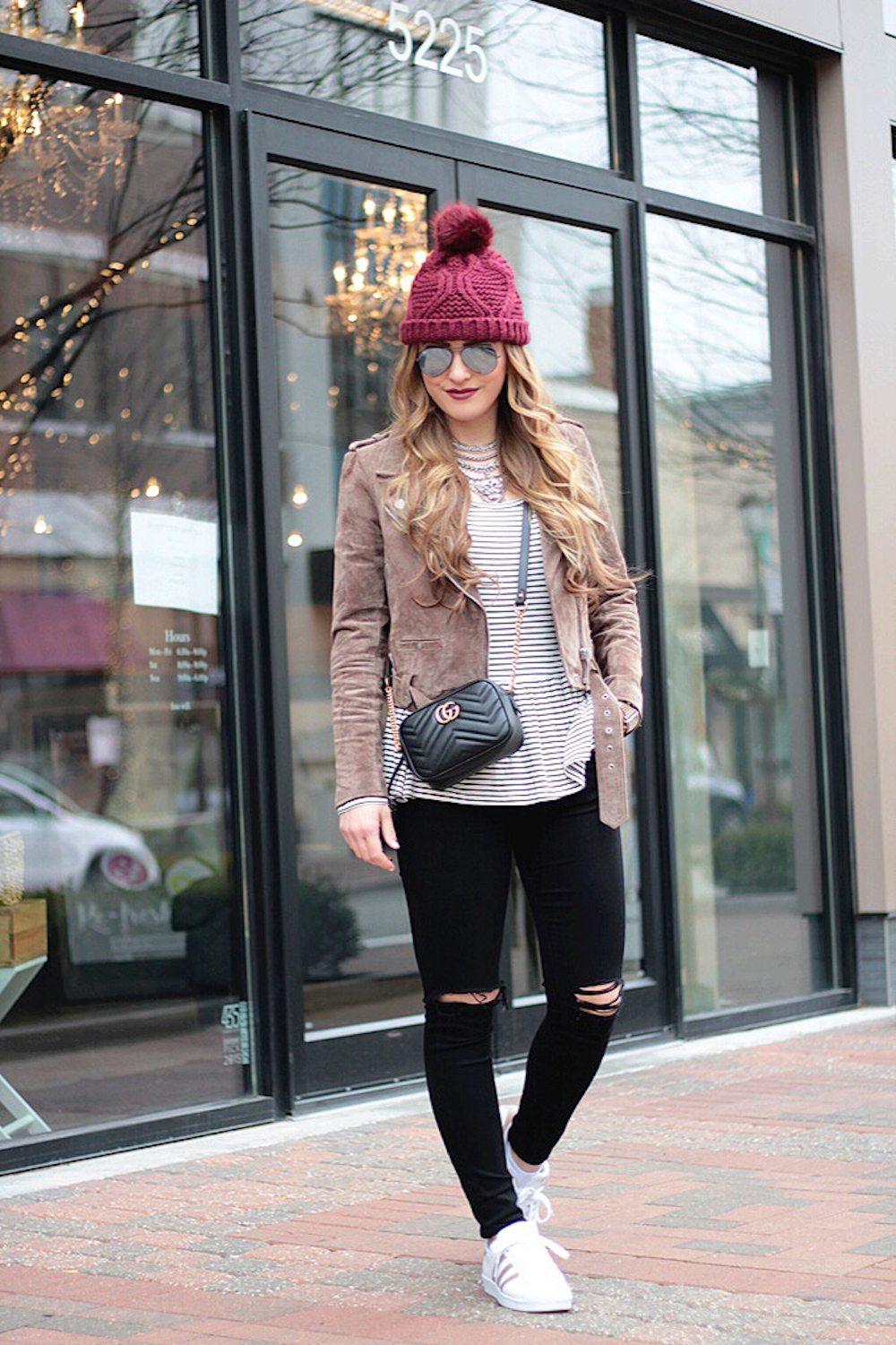 moto jacket and denim rachel puccetti between two coasts