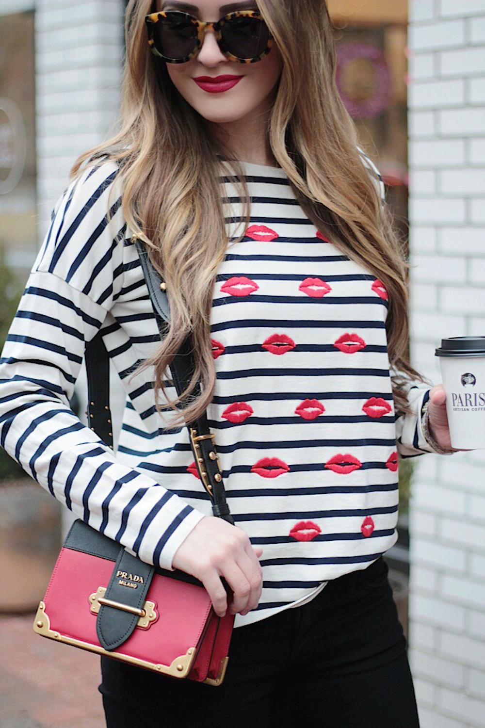 striped tee parisian style rachel puccetti between two coasts