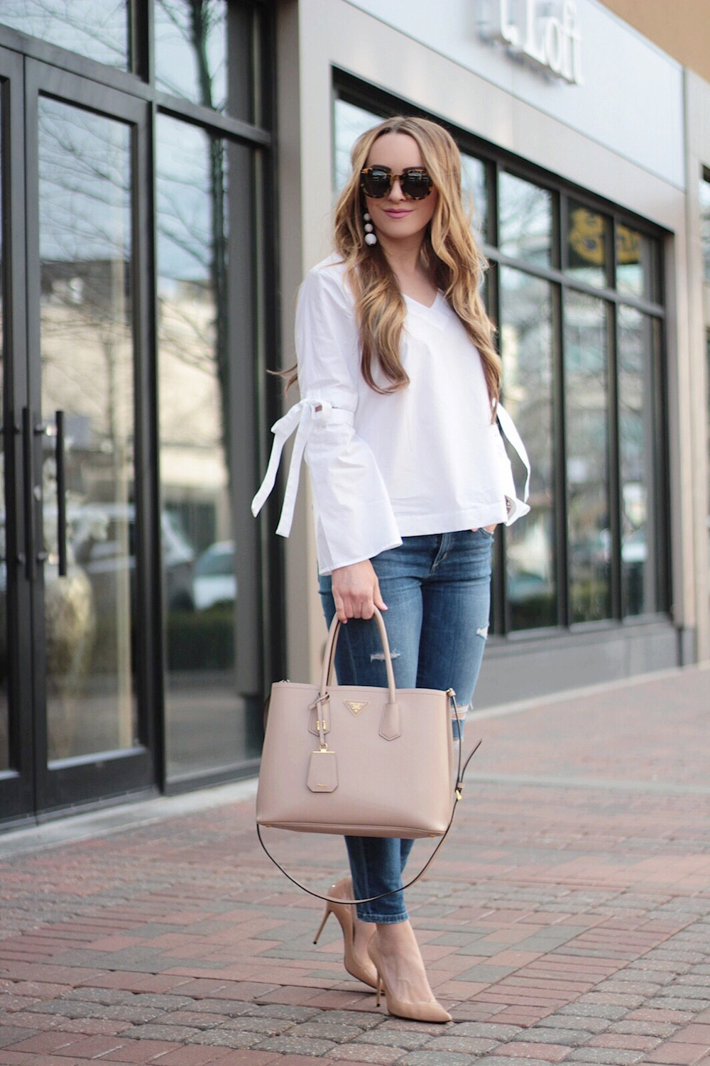 who what wear target bell sleeve top rachel puccetti