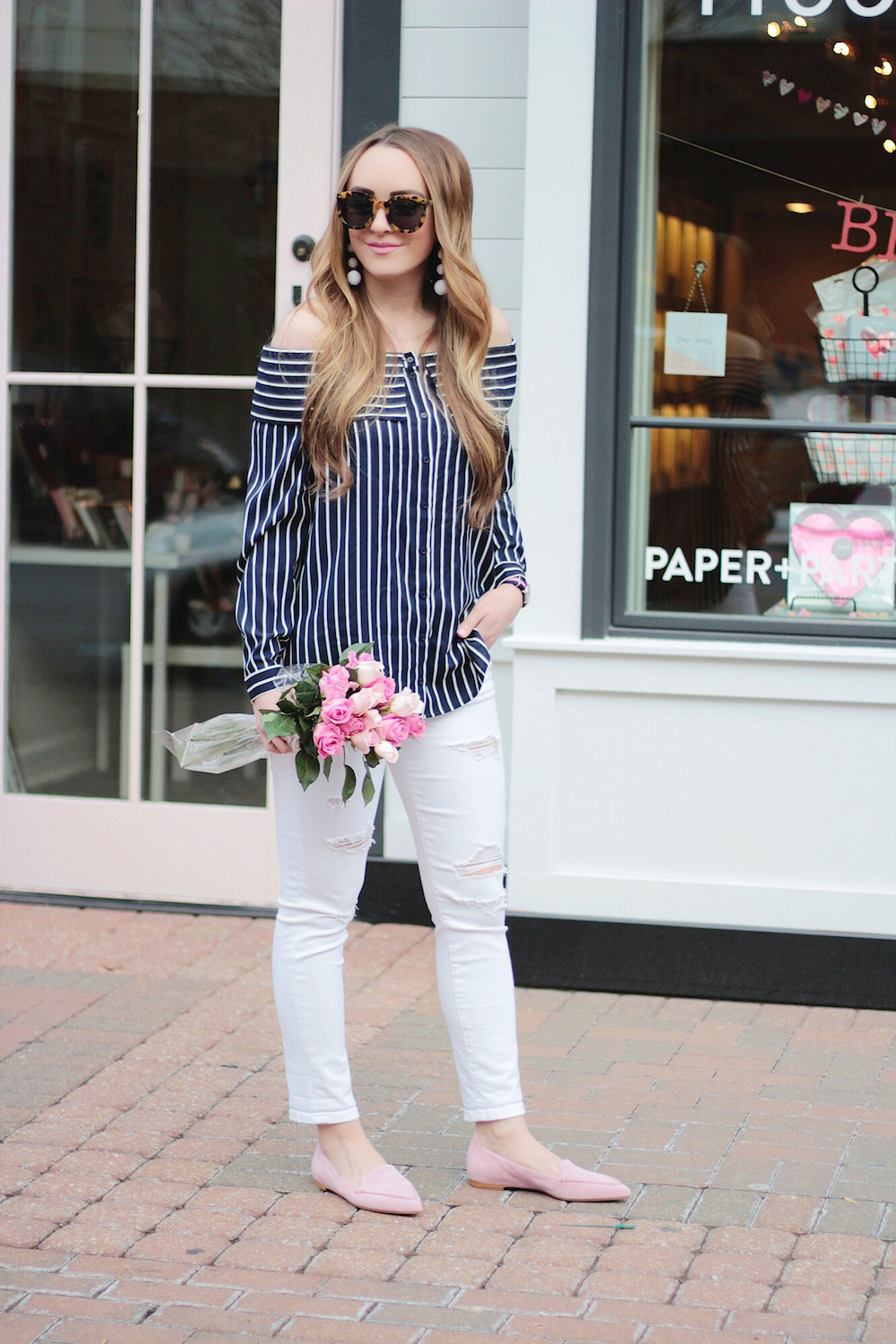 pink and navy spring style rachel puccetti between two coasts