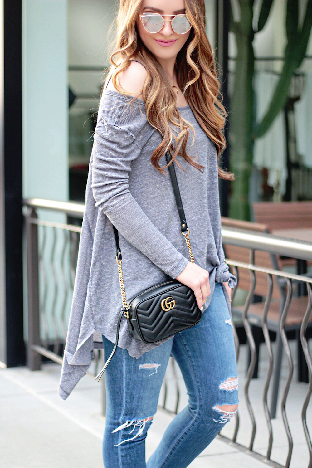 free people knotted tee rachel puccetti between two coasts