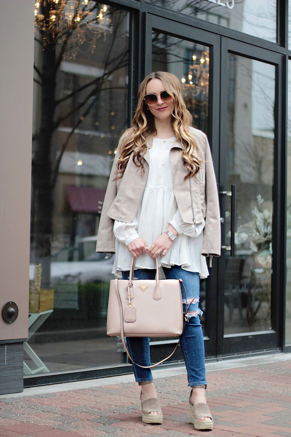 styling your moto jacket for spring rachel puccetti between two coasts