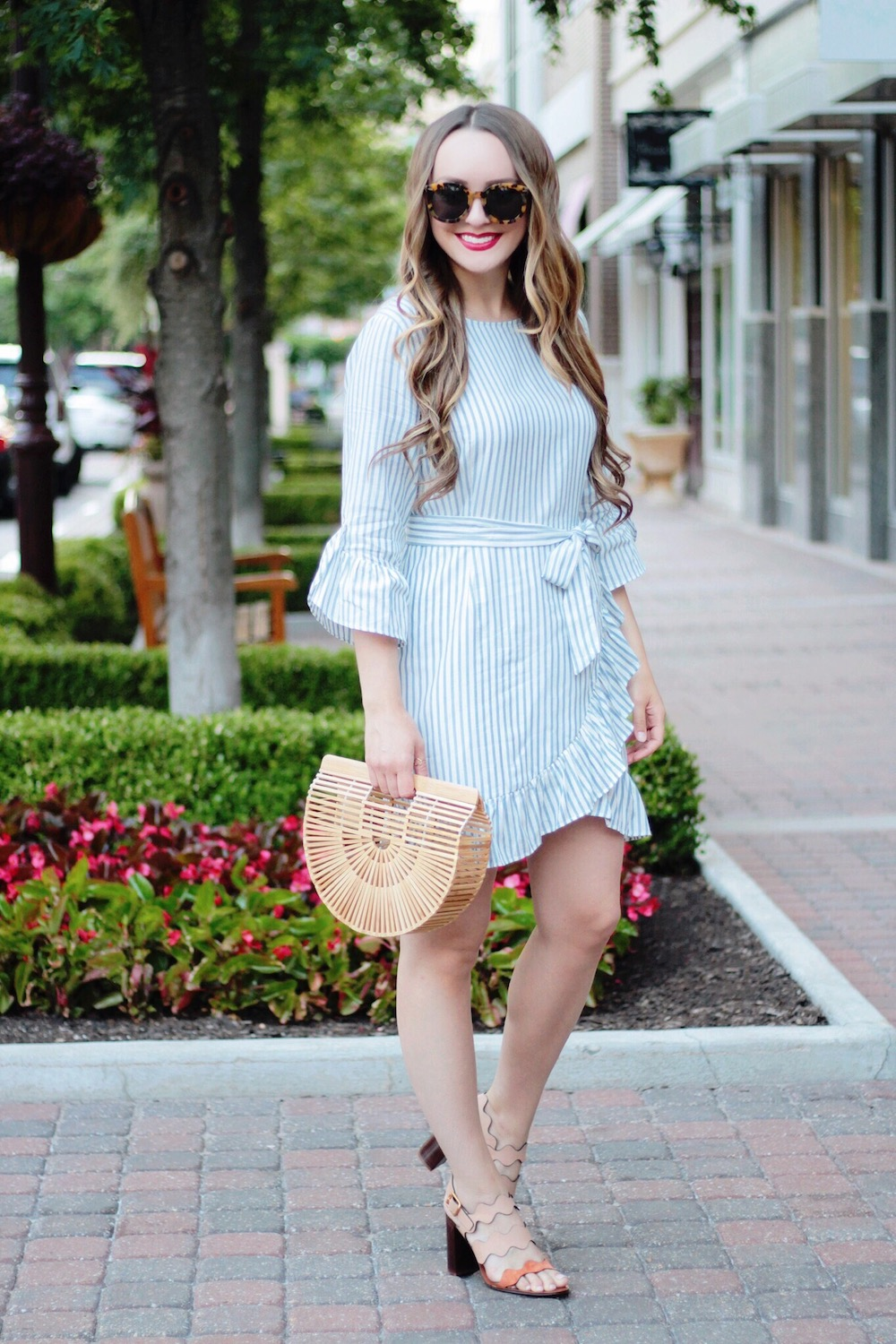 perfect little striped dress rachel puccetti between two coasts