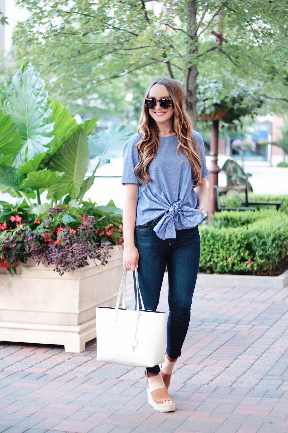 blue bow shirt nsale rachel puccetti between two coasts